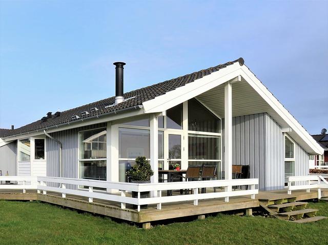 skandinávksá chata