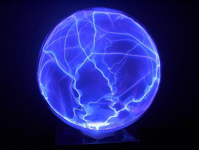 plazmová zeměkoule